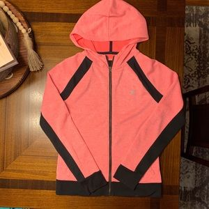 SIZE M- Orange Nike Dri-Fit Hurley Zip-Up Hoodie